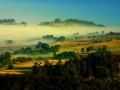 Margeride au petit matin - Lozère Évasion © Leo Gayola